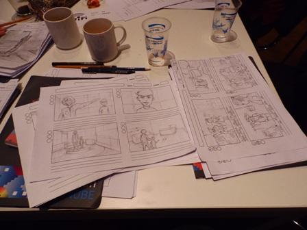Mini filmska akademija: radionica za storyboard za igrani film