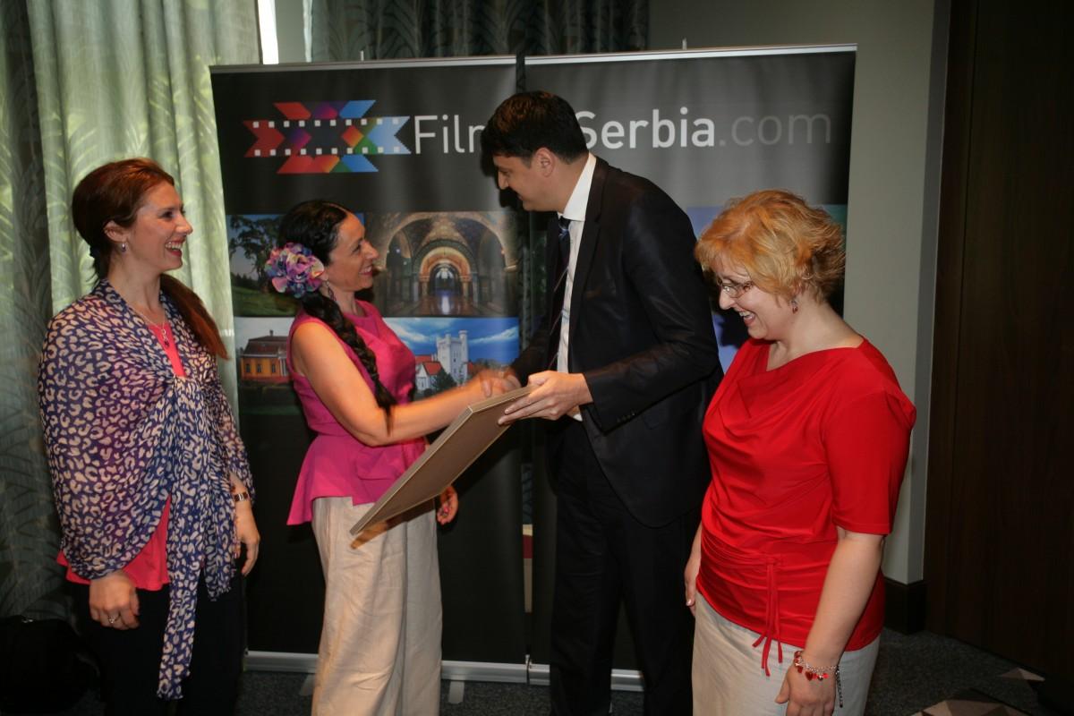 Svečana dodele Film Friendly sertifikata