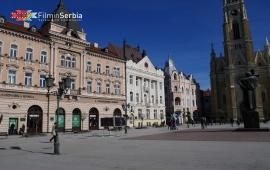 Liberty Square in Novi Sad