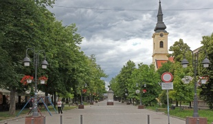Center of Apatin town