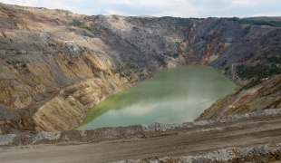Copper Open Pit Mine