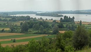 Landscape of the Ram village