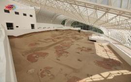Archaeological Site Lepenski Vir (Lepen Whirl)