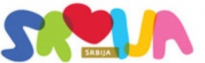 National tourism organisation of Serbia logo