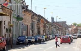Center of Vršac town