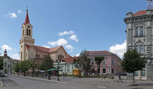 Center of Zrenjanin