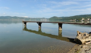 Danube Riverbank in Golubac