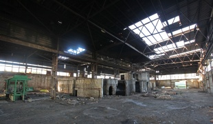 Abandoned factory in Vršac