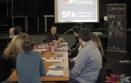 "Workshop and two master classes within the film festival ""Film&Chips"""