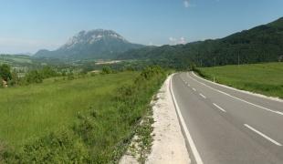 Roads in the vicinity of Boljevac