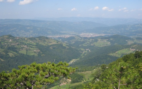 Crnjeskovo viewpoint