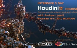 Houdini course in Belgrade