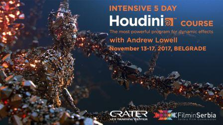 Houdini intensive course in Belgrade