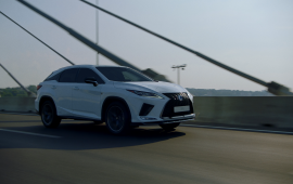 World Drive of Lexus RX in Belgrade