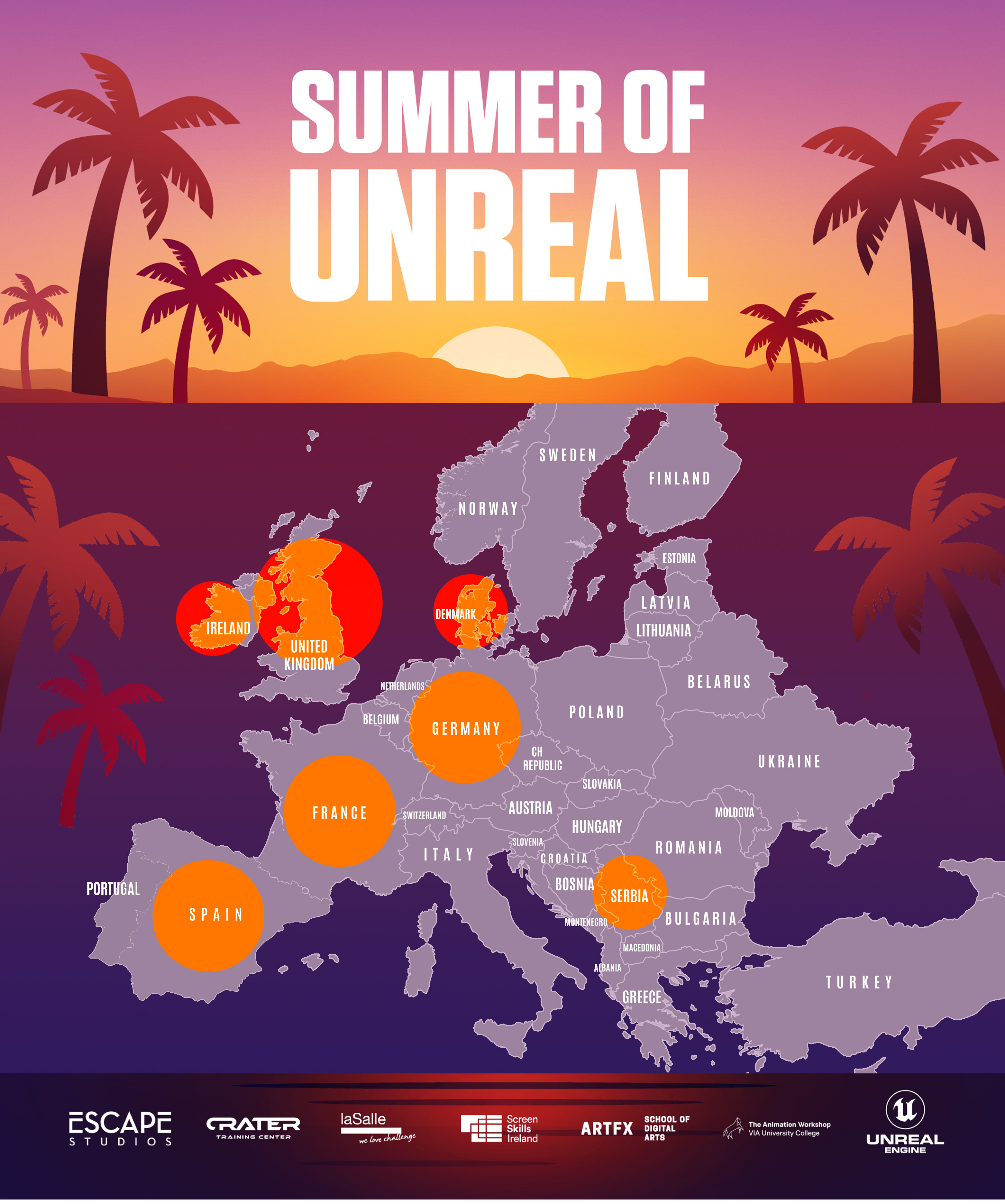 SUMMER OF UNREAL – EUROPEAN WIDE BOOT CAMP FOR ANIMATION PROFESSIONALS